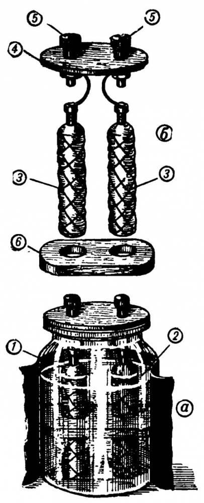 аккумулятор схема