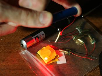 самодельные лазеры
