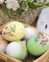 окраска яиц