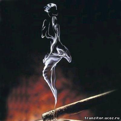 дым сигарет