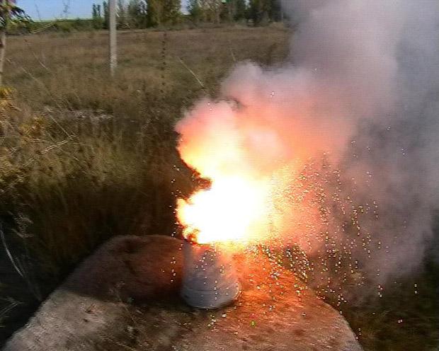 горение термита